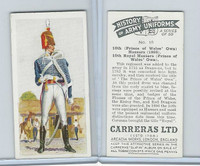 C18-55 Carreras, History Army Uniforms, 1937, #10 10th (Prince of Wales) Hussars