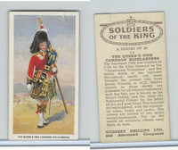 P50-125 Phillips, Soldiers Of The King, 1939, #14 Cameron Highlanders