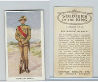 P50-125 Phillips, Soldiers Of The King, 1939, #18 Australian Infantry