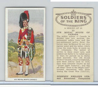 P50-125 Phillips, Soldiers Of The King, 1939, #20 5th Royal Scots Canada