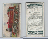 C30 Imperial Tobacco, Railway Engines, 1923, #12 LM & S Railway