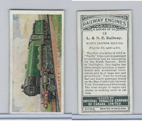 C30 Imperial Tobacco, Railway Engines, 1923, #18 L & NE Railway