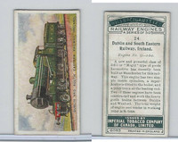 C30 Imperial Tobacco, Railway Engines, 1923, #24 Dublin Railway