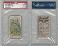 V39  J.S. Fry, Scout Series, 1912, #26 Scout Signs, PSA 2 MK Good