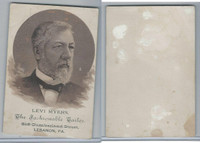 H603 Victorian Card, Presidential Candidates, 1888, Levi Myers
