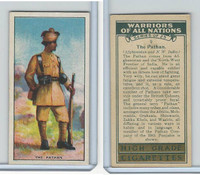 C82-86 Churchman, Warriors All Nations, 1931, #9 Pathan, India
