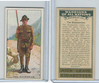 C82-86 Churchman, Warriors All Nations, 1931, #22 Roumanian