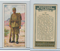 C82-86 Churchman, Warriors All Nations, 1931, #24 Turk