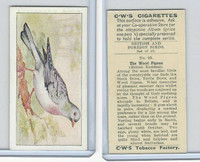 C130-24 CWS, British & Foreign Birds, 1938, #22 Wood Pigeon