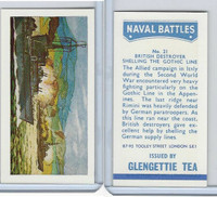 G0-0 Glengettie Tea, Naval Battles, 1971, #21 British Destroyer Shelling