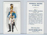 H0-0 Hitchman, Regimental Uniforms, 1973, #1 Royal Horse Guards