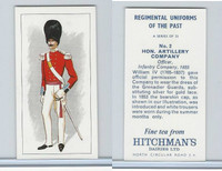H0-0 Hitchman, Regimental Uniforms, 1973, #2 Hon. Artillery Company