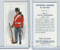 H0-0 Hitchman, Regimental Uniforms, 1973, #12 Royal Engineers