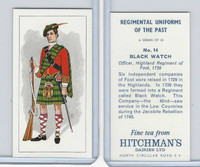 H0-0 Hitchman, Regimental Uniforms, 1973, #14 Black Watch