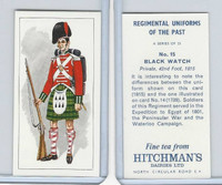 H0-0 Hitchman, Regimental Uniforms, 1973, #15 Black Watch