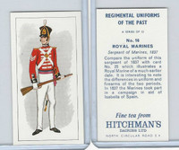 H0-0 Hitchman, Regimental Uniforms, 1973, #16 Royal Marines