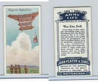 P72-16 Player, Army Life, 1910, #3 War Kite Drill