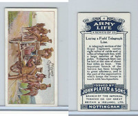 P72-16 Player, Army Life, 1910, #4 Laying a Field Telegraph Line