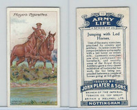P72-16 Player, Army Life, 1910, #10 Jumping with Led Horse