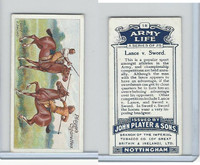 P72-16 Player, Army Life, 1910, #18 Lance v. Sword
