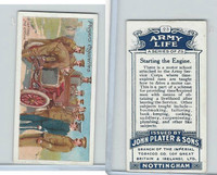 P72-16 Player, Army Life, 1910, #23 Starting the Engine