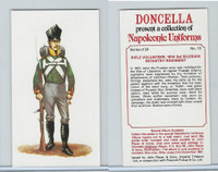 P72-00 Player, Napoleonic Uniforms, 1980, #13 Rifle Vol, 1814: 3rd Silesian