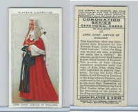 P72-157 Player, Coronation, 1937, #20 Lord Chief Justice of England