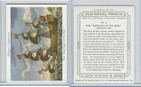 "P72-226 Player, Old Naval Prints, 1936, #2 ""Sovereign of the Seas"""