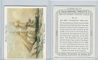 "P72-226 Player, Old Naval Prints, 1936, #16 HM Brig ""Waterwitch"""