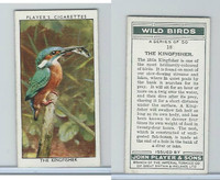 P72-142 Player, Wild Birds, 1932, #18 The Kingfisher