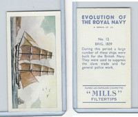 A46-0 Amalgamated, Evolution Royal Navy, 1957, #12 Brig, 1839