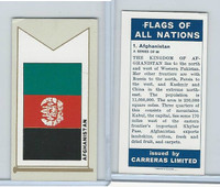 C18-0 Carreras, Flags All Nations, 1960, #1 Afganistan