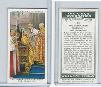 C82-60 Churchman, Kings Coronation, 1937, #18 The Coronation Ceremony