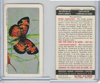 FC34-9 Brook Bond, Butterflies North America, 1965, #11 Pearl Crescent
