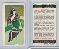 FC34-9 Brook Bond, Butterflies North America, 1965, #23 Lorquins Admiral