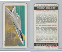 FC34-11 Brook Bond, Transportation Ages, 1967, #42 Vairiable Wing Aircraft