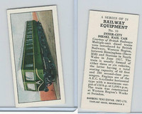 B0-0 Barbers Tea, Railway Equipment, 1958, #15 Inter-City Diesel Rail Car