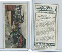 C82-48 Churchman, Famous Railway Trains, 1929, #1 Paddington