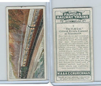 C82-48 Churchman, Famous Railway Trains, 1929, #2 Teignmouth