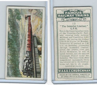 C82-48 Churchman, Famous Railway Trains, 1929, #13 Imperial