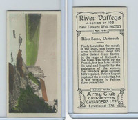 C48-27 Cavanders, River Valleys, 1926, #108 River Scene, Dartsmouth
