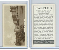 C132-81 Cope, Castles, 1939, #17 Alnwick Castle, Northumberland