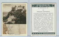 C82-51 Churchman, Holidays In Britain, 1937, #24 Herlech, Merioneth