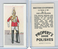 P0-0 Propert, British Uniforms, 1955, #2 Life Guards