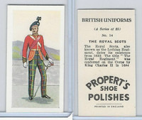 P0-0 Propert, British Uniforms, 1955, #14 Royal Scots