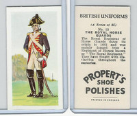 P0-0 Propert, British Uniforms, 1955, #15 Royal Horse Guards