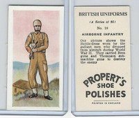 P0-0 Propert, British Uniforms, 1955, #18 Airborne Infantry