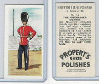 P0-0 Propert, British Uniforms, 1955, #19 Grenadier Guards