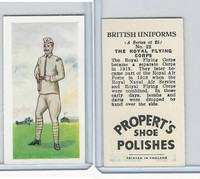 P0-0 Propert, British Uniforms, 1955, #22 Royal Flying Corps