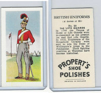P0-0 Propert, British Uniforms, 1955, #23 2nd Life Guards